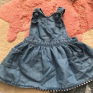 Oshkosh denim apron dress